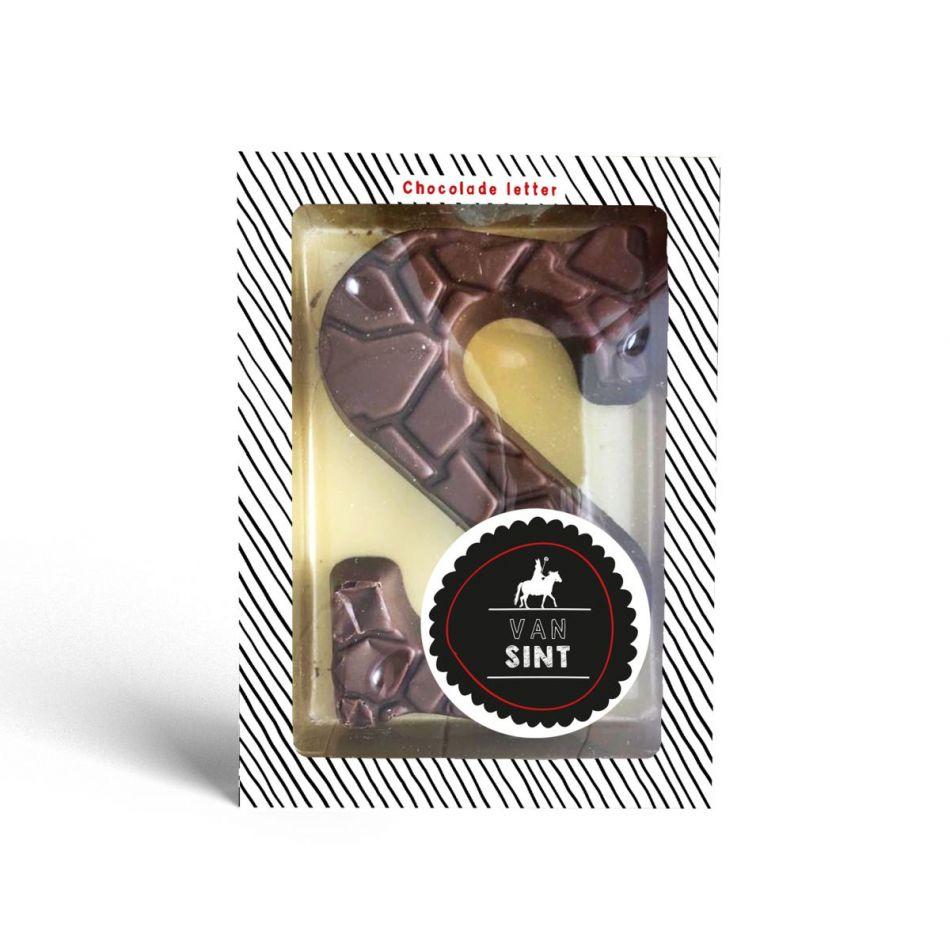 Sint letter S melkchocolade UTZ 135 gram