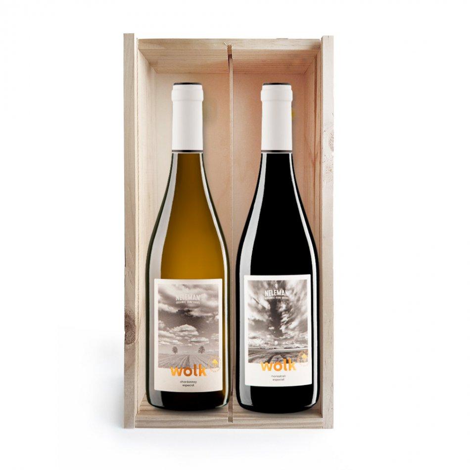 Wijnkist Wolk Duo Organic